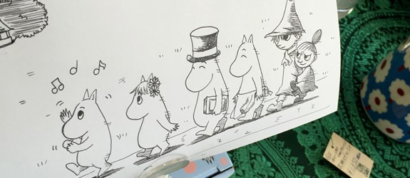 匠のPOPムーミン3 贈物広場セノヲ山崎店